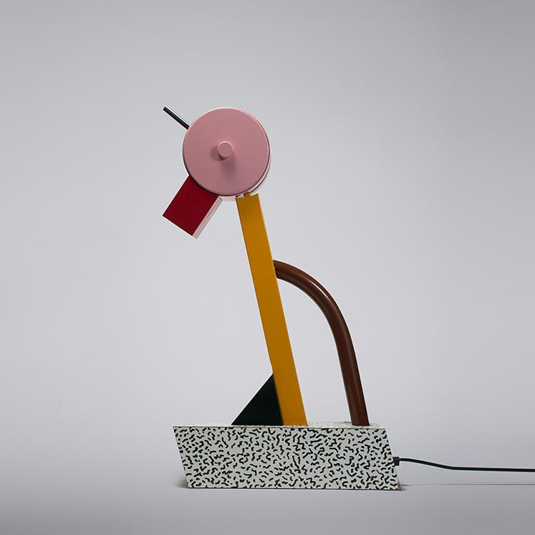 Tischleuchte Tahiti von Designer Ettore Sottsass