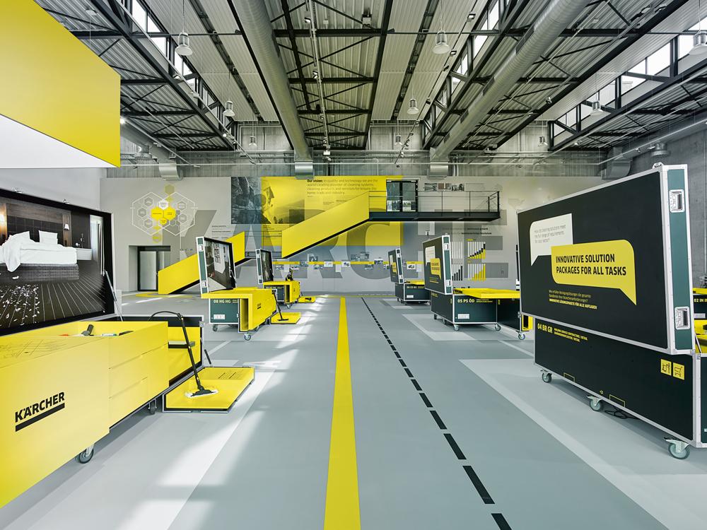 Candela-Lichtkonzept-Kaercher-Experience-Center-Winnenden-Milla&Partner