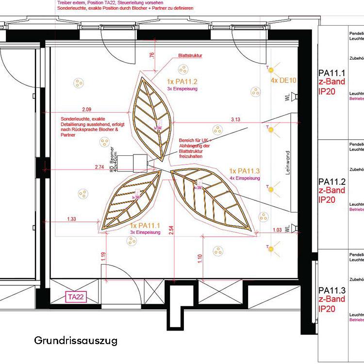 Hilton-Garden-Inn-Sonderleuchte-Baumraum-Detailplanung-Beschriftung