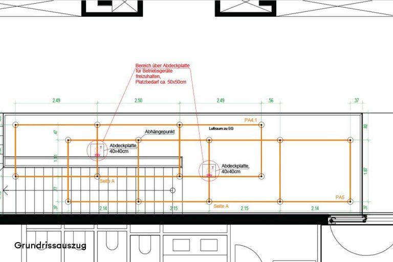 candela-Sonderleuchte-Lichtmatrix-Hilton-garden-Inn-Mannheim-Auszug-Grundriss