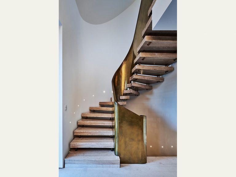 Lichtplanung für Haus S in Gerlingen, Treppe