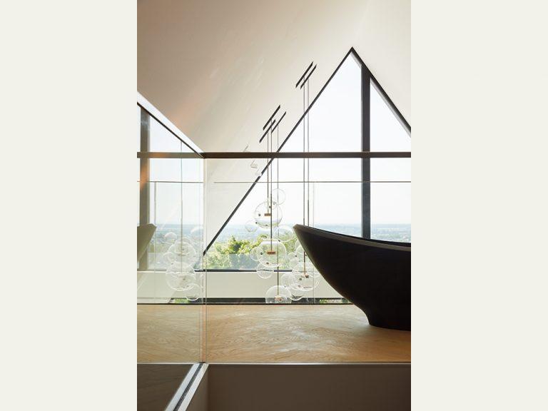 Neugestaltung einer 50er-Jahre Villa, Badezimmer