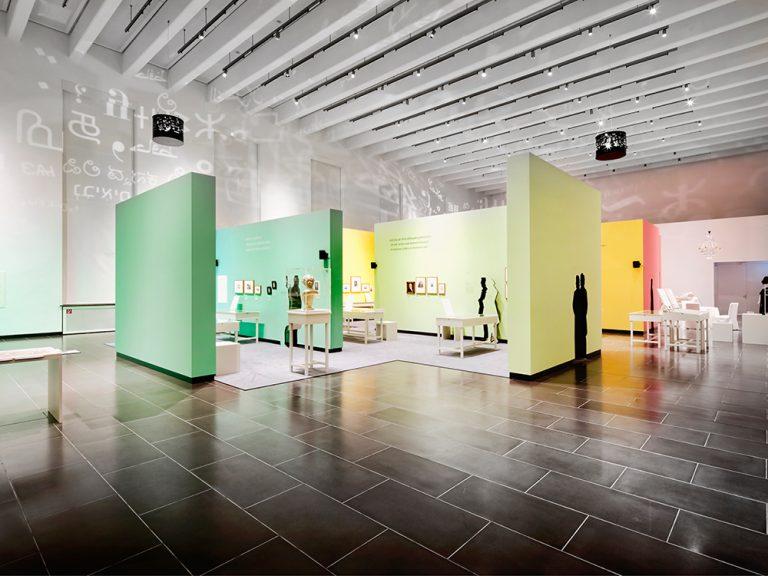 Beleuchtung in der Wechselausstellung Kunsthalle Schweinfurt