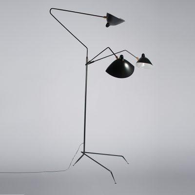 Candela-Lichtplanung-Salone-Stehleuchte-Lampadaire-Serge-Mouille
