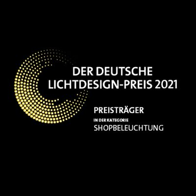 Deutscher Lichtdesign-Preis 2021 Preisträger Kategorie Sopbeleuchtung